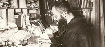 St Maximilian Kolbe Writing