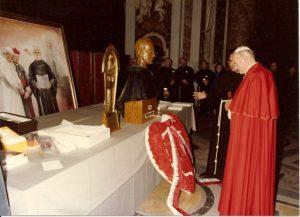 Pope John Paul and St, Maximilian Kolbe