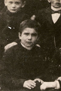 St Maximilian as a child